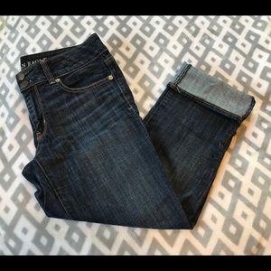 American Eagle Artist Crop Jeans - Size 6